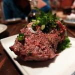 飲み食い処 伜 -せがれ- - 秋刀魚梅タタキ