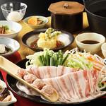 姥子温泉芦ノ湖一の湯 - 料理写真:2015年秋冬標準夕食コース