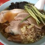 木蘭 - 焼豚ラーメン 1000円(税込み)