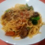 けせらせら - 牛肉のラグー(トマトソース)パスタ