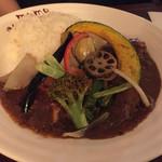 MOMO curry - 野菜チキンカレー