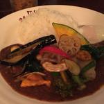 MOMO curry - 野菜カレー スペシャルトッピング