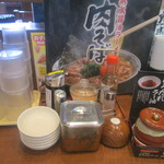 43627822 - 無料の野沢菜・どろダレラー油・お茶が嬉しい