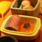 紀風 - 柿にみたてた黄味もすてき