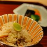 紀風 - キノコの炊き込み御飯