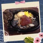 43629729 - 1380円のランチ赤身肉ステーキ♡ウェルダン