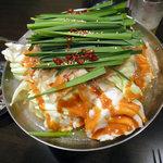 木村屋本店 - もつ鍋(辛味噌)