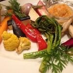 坂の上ホタル - 色とりどり! 野菜のグリル焼き!