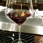 横浜うかい亭 - 赤ワイン ピノノワール。
