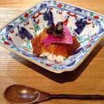 料理屋 染川 - くもこポン酢ジュレ