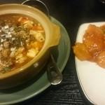 43631953 - 麻婆豆腐と2種の海老♪