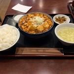 43633147 - 麻婆豆腐定食
