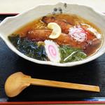 美食厨房まるよし - 椿・潮騒(さんま)ラーメン