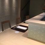 肥後橋 やま本 - ☆落ち着いた雰囲気のカウンター席(#^.^#)☆