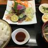 二幸 - 料理写真:サンマ刺身定食 単品の価格に+378円で定食に。