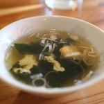 有天楼 - スープ