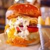 shake tree - 料理写真:チーズバーガーにタルタルとエッグトッピング