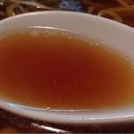 三角山五衛門ラーメン - スープ