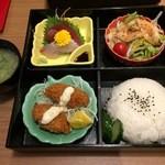 食彩わいわい村 - わいわい弁当(1100円)