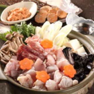 【冬はアンコウ鍋♪】魚バカにしかない白味噌ベースのお出汁で◎