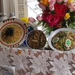 ジュン - 普通の玄関先に食品サンプルが(笑)