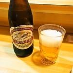 小好鮨 - スタートはビール