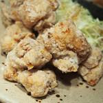 やまや - 鶏の唐揚げ明太風味定食(明太子ソース別添え)