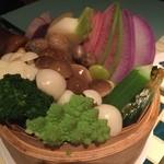 43644673 - 蒸し野菜