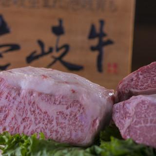 肉質の良い最高のブランド肉「壱岐牛」使用♪