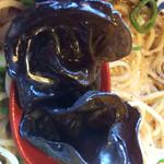 らー麺 藤平 - でっかいキクラゲ