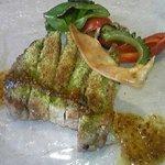サカナザ・マエダ - 三元豚の香草パン粉焼
