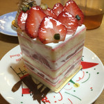 御影高杉  - 苺のショートケーキ(¥627) ビジュアル良好