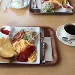 若葉珈琲 - 料理写真:モーニング