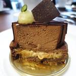 赤坂スクエアダイニング - チョコレートタルト