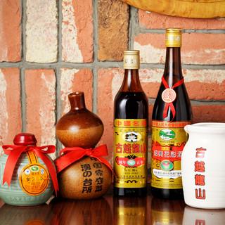 国伝統蒸留酒(白酒)や壺出し紹興酒もお楽しみ下さい!