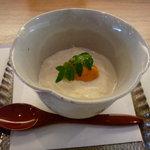 あめ婦 - 料理写真:☆トロトロ湯葉の雲丹のせ(≧▽≦)/~♡☆