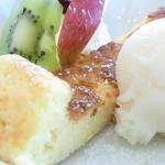 ぱんだかふぇ - チーズケーキは+¥200だったかな?☆♪