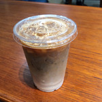 la kagu cafe - アイスカフェラテ(ショート) 540円