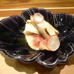Oimatsu Kitagawa - 先付(黒イチジク、本シシャモ)