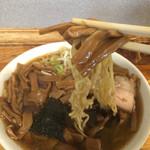竹の家 - 201510 普通のラーメンより300円増しだけど、しっかり熟成のメンマがこれでもかとたっぷり
