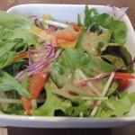 鉄板焼お好み焼 花子 - ランチセットのサラダ