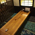 居酒屋こうちゃん - 座敷は1テーブル8名まで座れます。