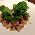 クッチーナ イタリアーナ セルヴァッジョ - 牡蠣のパスタ