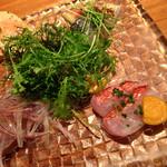 クッチーナ イタリアーナ セルヴァッジョ - 前菜4種盛り