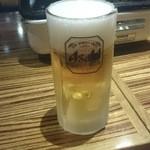 ポークマン 樹々苑 - 生ビール