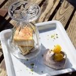 百花 - 栗のアイスケーキ