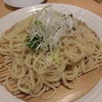 ラグタイム - 2015年10月:勝浦タンタンメンの麺は結構太麺です