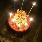 パティスリー・ギオン・タマウサギ - バースデーケーキ