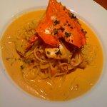 バターフィールド - わたり蟹のトマトクリームソースパスタ