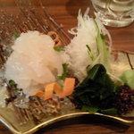 和洋旬菜 新 - 白えびの刺身